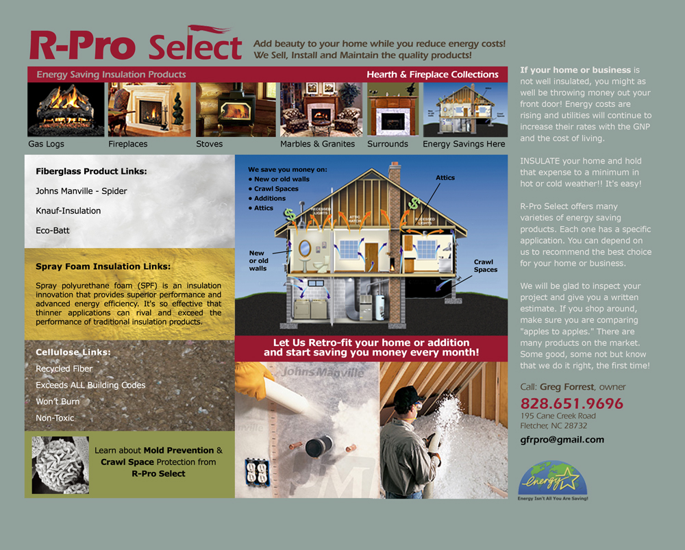 R-ProSelect Energy Saving Products
